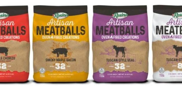 Rosina Food Products Inc. innovates with artisan meatball line