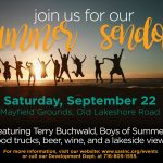 Summer Sendoff event to feature great music, food trucks and amazing views