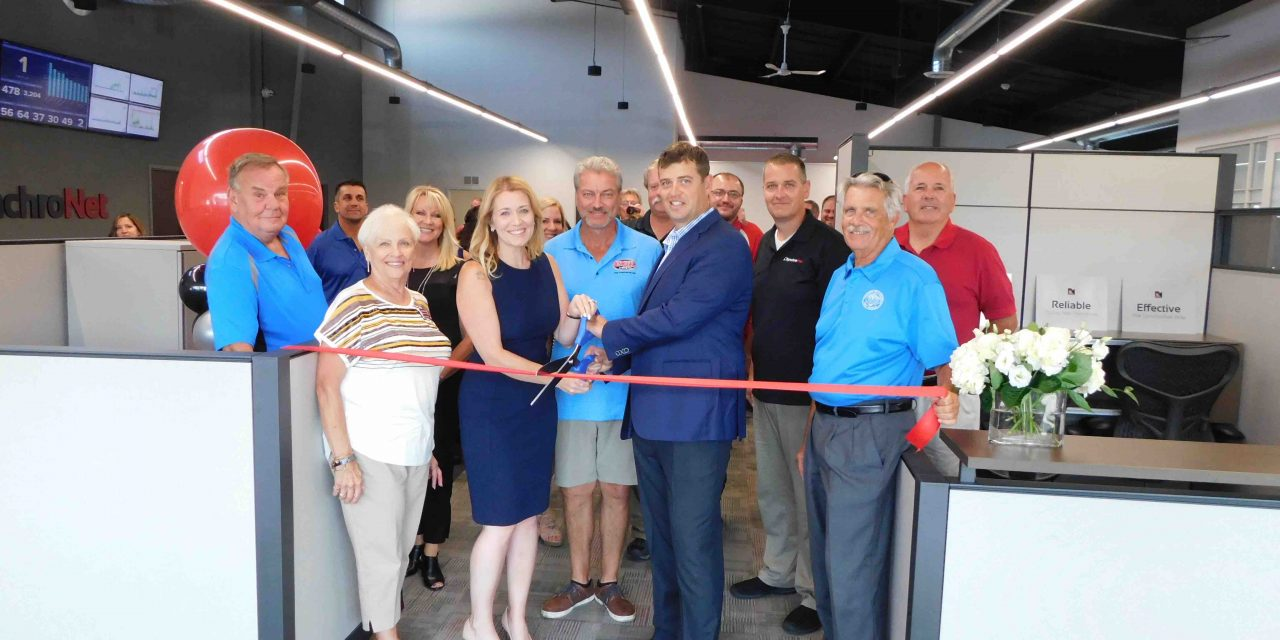 SynchroNet hosts grand opening, 20th anniversary celebration
