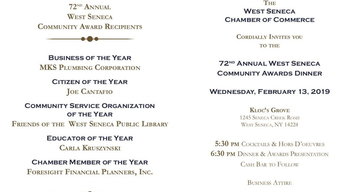 Tickets, program ads available for Community Awards Dinner