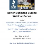BBB offers free business webinars