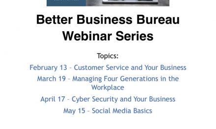 BBB offers free business webinars