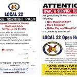 Local 22 plans open house