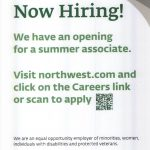 Northwest Bank hiring summer associate