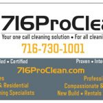 716ProClean Group is ready to assist with your spring cleaning projects