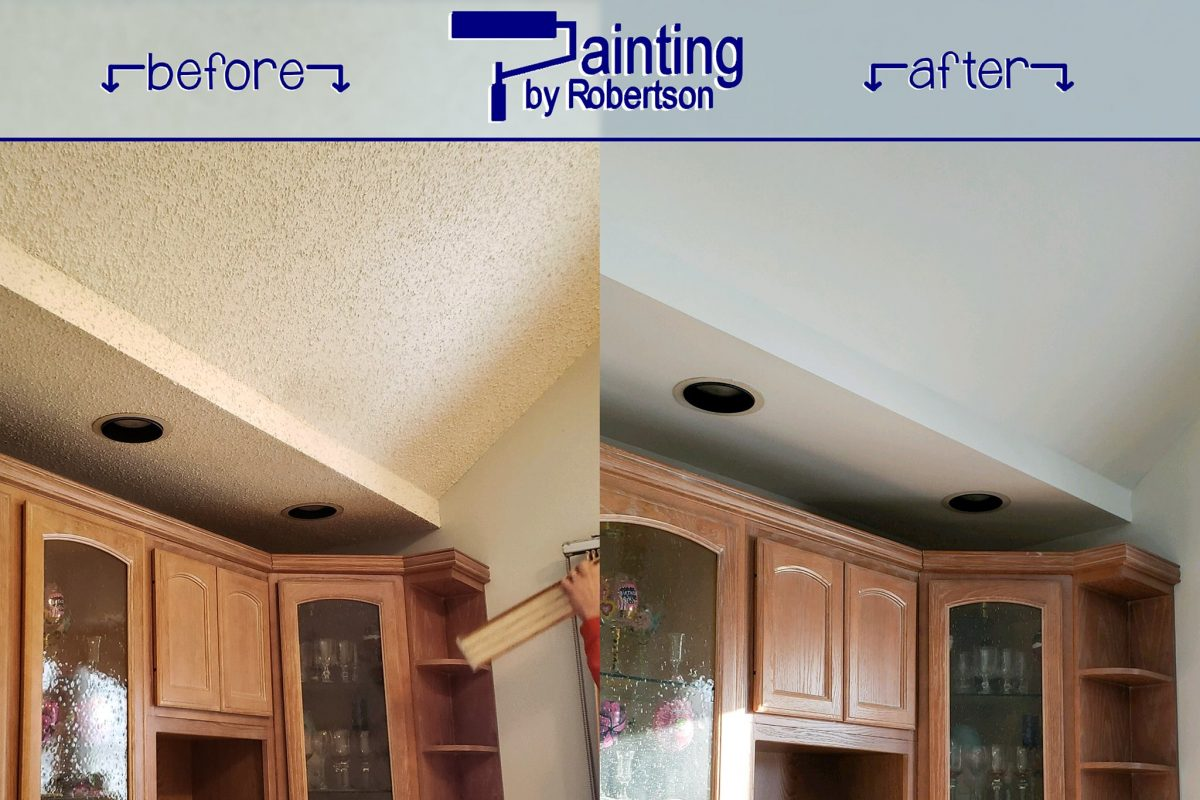 Removing A Popcorn Ceiling Protect Yourself And Your Property
