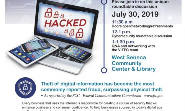 Chamber, VITEC to offer cybersecurity roundtable