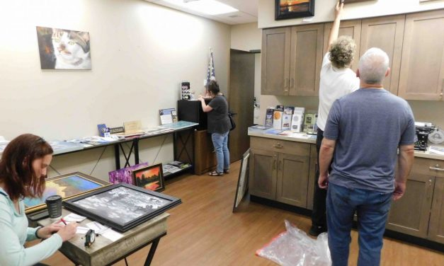 West Seneca Chamber of Commerce exhibiting work of Art Society artists