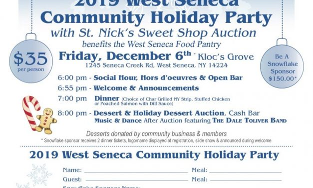 West Seneca Community Holiday Party to feature dessert auction